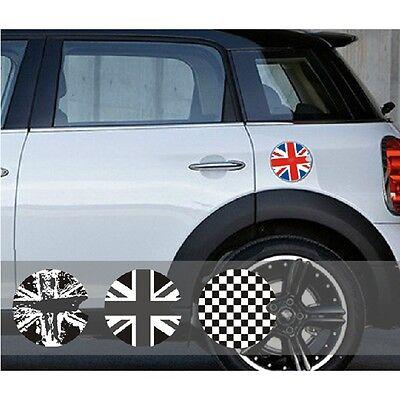 Car Fuel Tank Gas Cap Cover Sticker Decor Decal For Mini Cooper Clubman F54
