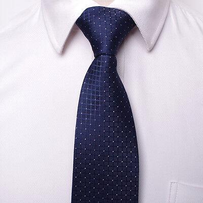 8CM  Men Jacquard Woven Tie Necktie Business Wedding Party Ties 17 style 2