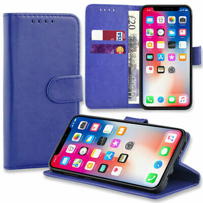 Case for Samsung Galaxy S10 S9 S8 Plus Cover Flip Wallet Leather Magnetic Luxury 3