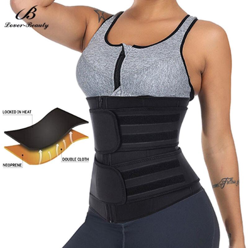 Women Waist Trainer Neoprene Belt Hot Sauna Sweat Body Shaper Tummy Control Slim 5