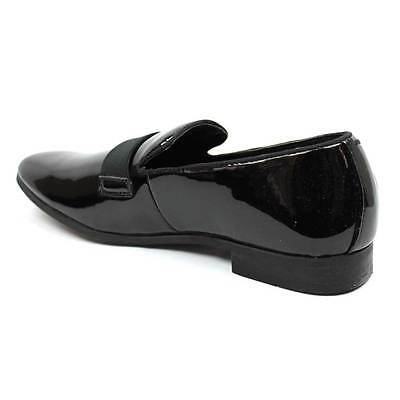 df07f0ddc4cb ... New Men's Black Slip On Patent Leather Tuxedo Formal Event Dress Shoes  By AZAR 5