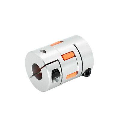 Plum Jaw Spider Shaft CNC Stepper Motor Coupling Flexible Coupler for 3D Printer 5