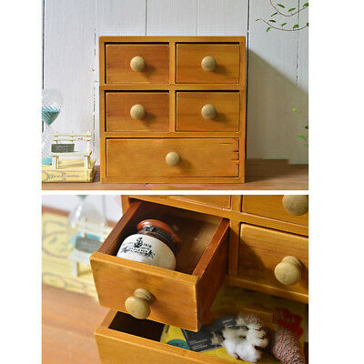 10Pcs Large Wood Door Knob Wooden Round Cupboard Drawer Pull Handle 36mm #AM8 3