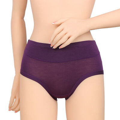 Silky Soft Bamboo Knickers Pants Briefs Moisture Absorbing Multi Colours Packs 6