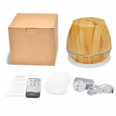 Aroma Aromatherapy Diffuser LED Essential Oil Ultrasonic Air Humidifier Purifier 7