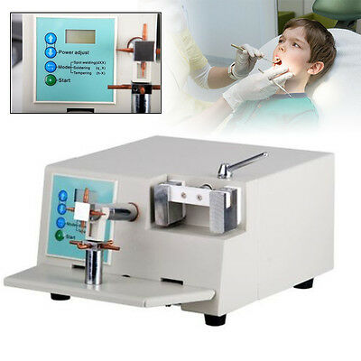 HL-WD2 Dental Lab Spot Welding Orthodontic Braze Repair Heat Treatment Machine 3