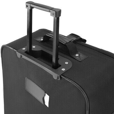 Kofferset Reisekoffer 5 Taschen Trolley Reise Koffer Set Tasche S M L XL schwarz 5