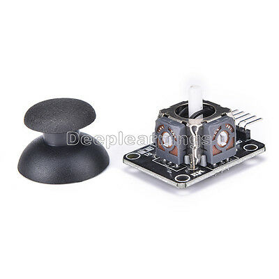 2 PCS JoyStick 5Pin Breakout Module Shield PS2 Joystick Game Controller New 2