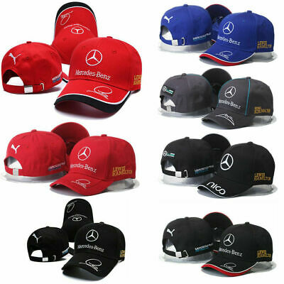 New 2019 Mercedes AMG F1 Adults Lewis Hamilton Baseball Cap Hat T1 2