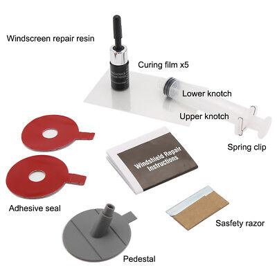 Car Windshield Windscreen Glass Scratch Chip Crack SET Car Repair Tool DIY Kit 3