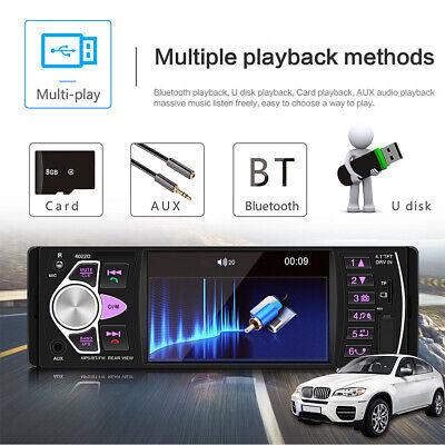 1Din Autoradio Mit Bildschirm Display Video Monitor Bluetooth Freisprech Usb Sd 9