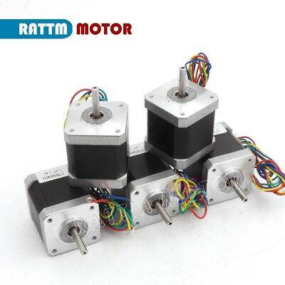 【EU Stock】 5Pcs Nema17 Stepper Motor 78oz-in 48mm 1.8A for 3D Printer CNC Robot 2