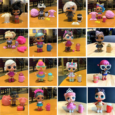1000 styles LOL Surprise Dolls Glam Glitter Queen Bee UNICORN LIL Sister Pet toy 4