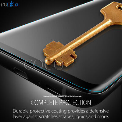 Galaxy S9 S8 Plus Note 9 8 NUGLAS Tempered Glass Full Screen Protector Samsung 5
