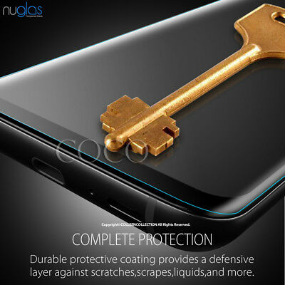 Samsung Galaxy S10 E S9 S8 Plus Note 9 8 NUGLAS Tempered Glass Screen Protector 5