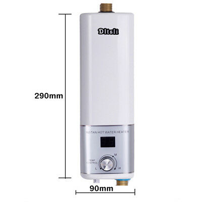 Instant Electric Water Heater Portable Camping Outdoor Shower Hot Water System 8