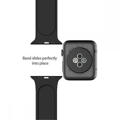 Silicone Bracelet Band Strap Sports Bands For Apple Watch iWatch Series 1/2/3/4 8