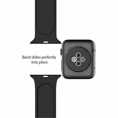 Silicone Sport Band Strap for Apple Watch iWatch Series 4 3 2 1 38/40mm 42/44mm 6