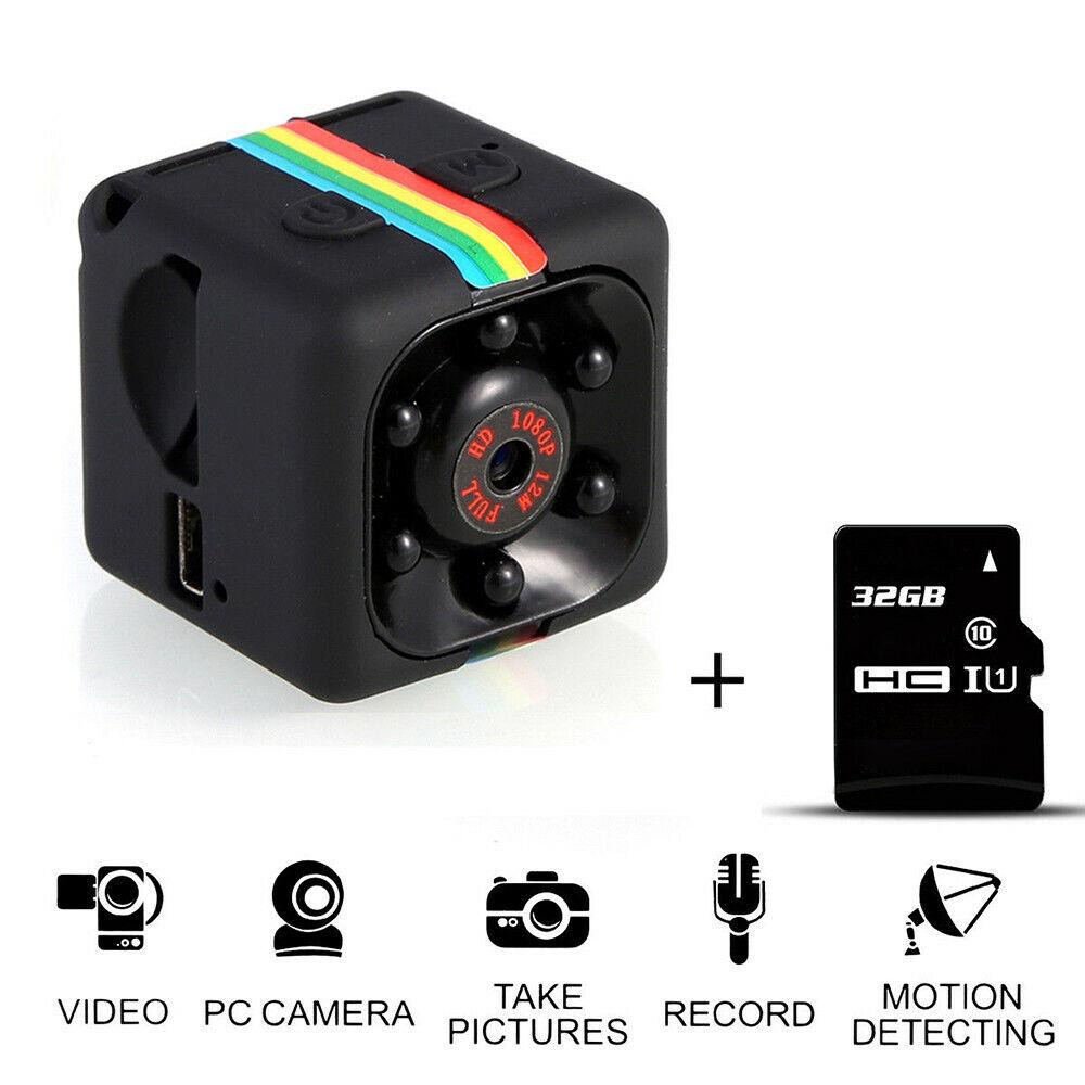 Vision nocturne de détection de mouvement d'enregistreur vidéo audio mini caméra 4