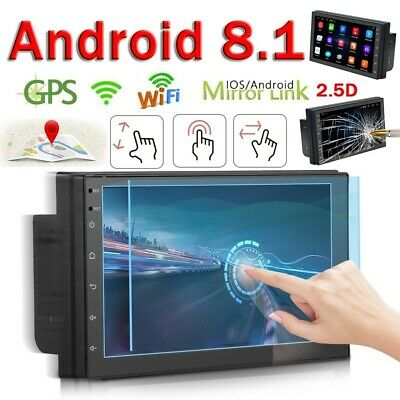 "7"" Android 8.1 AUTORADIO mit GPS Navigation NAVI BLUETOOTH WIFI DOPPEL 2 DIN MP3 2"
