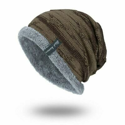 Winter Beanies Slouchy Chunky Hat for Men Women Warm Soft Skull Knitting Caps 8