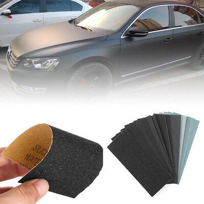 Wet and Dry Sandpaper Any Grit 150-8000 High Quality Sanding Paper Abrasive Tool 4