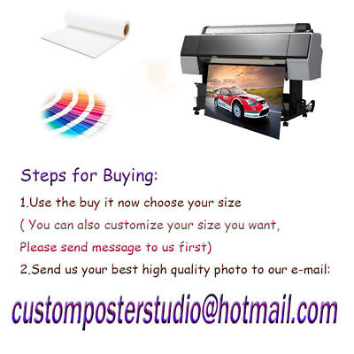 Custom Poster Design 16 x 24 inch Printing Thin Silk Fabric (Not with frame) 2
