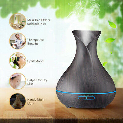 LED Ultrasonic Essential Oil Aroma Diffuser Aromatherapy Air Humidifier AU Stock 5