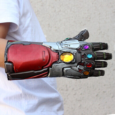 Vendicatori Endgame Infinity Gauntlet Cosplay Iron Man Tony Stark Guanti Costume 4