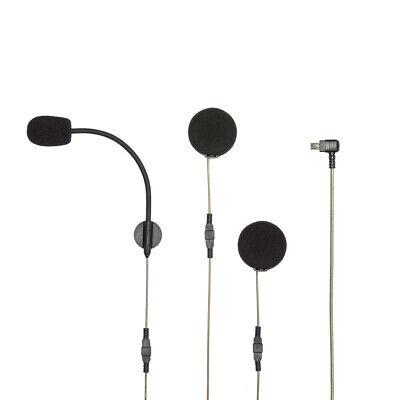 Albrecht BPA 400 Bluetooth Motorrad Headset für Smartphone Zumo & TomTom Rider 2