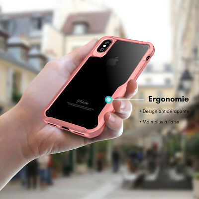 Coque Housse Protection Pour iPhone X/6/6S/Plus/7/8 XR XS MAX Rigide Antichoc 12