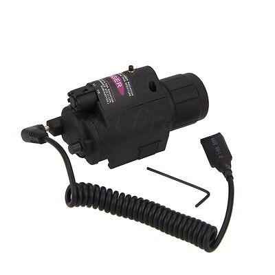 Red Dot Laser CREE LED Flashlight Torch Sight Scope Rifle/Gun Hunting Mount Rail