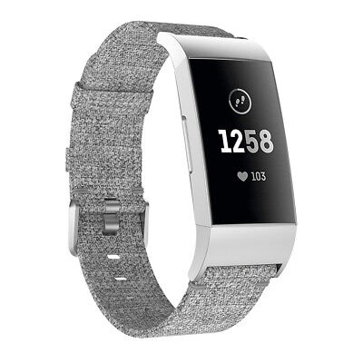 Fitbit Charge 2 3 Armband Edelstahl Ersatzband Nylon Milanese Sport Leder Watch 10