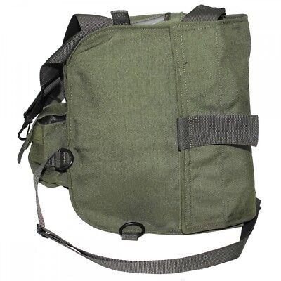 Polnische Armee Umhängetasche Gasmaskentasche Militär Tasche Beutel Vintage PL