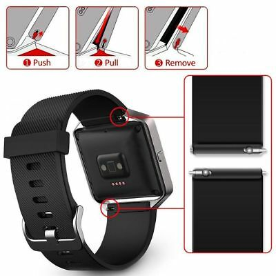 Replacement Silicone Gel Band Strap Bracelet Wristband for FITBIT BLAZE Sport 2