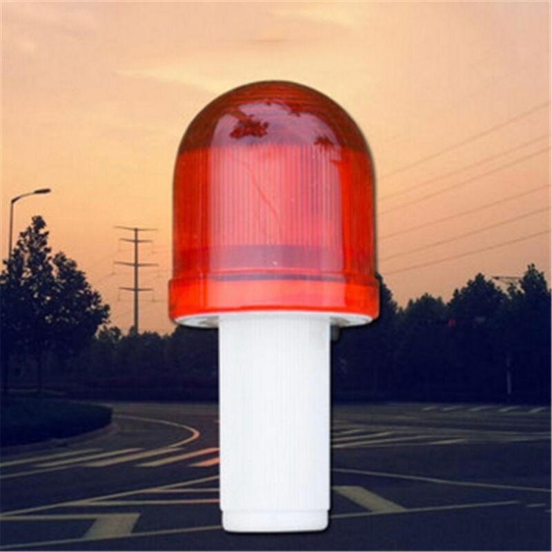 LED Roadway Emergency Road Light Traffic Cone Hazard Skip Light Warning Lamp 2