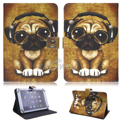 "For Apple iPad 2 3 4/Air/Mini/Pro 9.7"" 10.2"" Universal Leather Stand Case Cover 3"