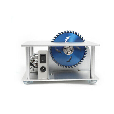Portable Electric Mini Benchtop Table Saw Adjustable 96-120W Home Workshop Use 5