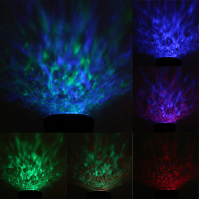 Relaxing Ocean Wave Music LED Night Light Projector Remote Lamp Baby Sleep Gift 6