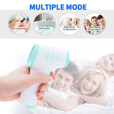 Infrared Thermometer Digital LED Forehead No-Touch Body Adult Temperature US ℉ 4