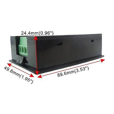 100A AC Digital LCD Power Panel Meter Monitor Power Energy Voltmeter Ammeter NEW 8