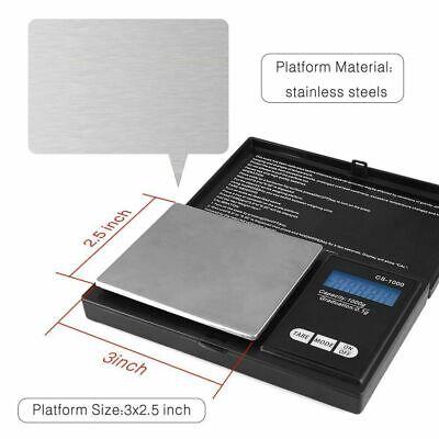 Pocket 1000g x 0.1g Digital Jewelry Gold Coin Gram Balance Weight Precise Scale 5
