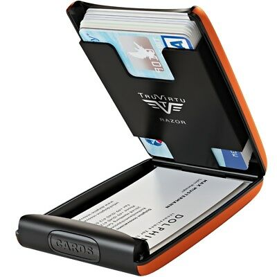 5da47cd8c6ee7 ... 2 von 4 TRU VIRTU Aluminium Kreditkartenetui Visitenkartenetui EC  Kartenetui RFID Etui 3