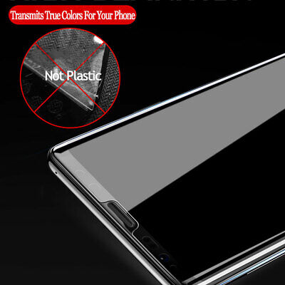 UV Tempered Glass Screen Film Protector for Samsung Galaxy Note10/S10 S8 S9Plus 9
