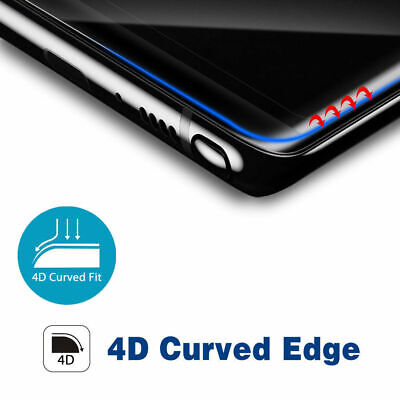 Nuglas Galaxy S10 9 8 Plus e Note 9 8 4D Tempered Glass Screen Protector Samsung 3
