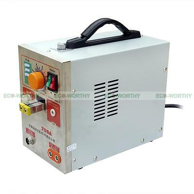 LED Pulse Spot Welder Weld 18650 Battery Welding Machine with Charger 110V 60A 6