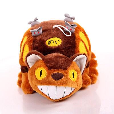 Anime Studio Ghibli My Neighbor Totoro Cat Bus Plush Toy Soft Stuffed Doll Kids 2