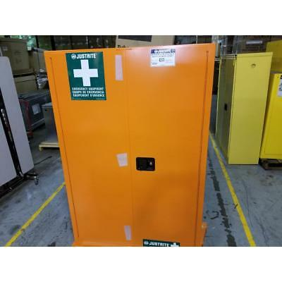 Justrite 20H145 45 Gal. Flammable Cabinet 65 X 43 X 18 Manual Door Type 186987