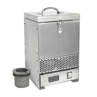 1 Of 5 Hardin HD 234SS Stainless Steel Tabletop Melting Furnace With 2kg  Crucible 110V