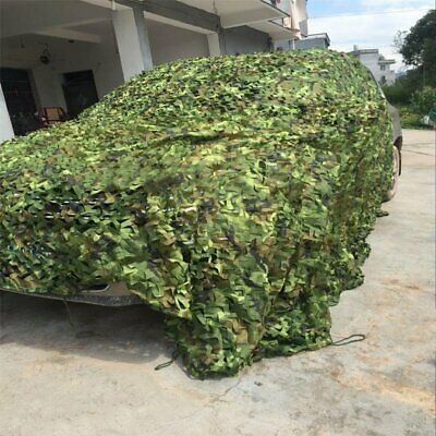 10Mx1.5M Camouflage Net Camo Hunting Shooting Hide Army Camping Woodland Netting 3